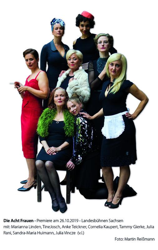 Acht Frauen - Kriminalkomödie