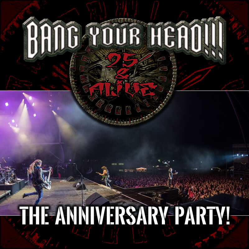 BANG YOUR HEAD!!! Festival 2020 - 25 & Alive
