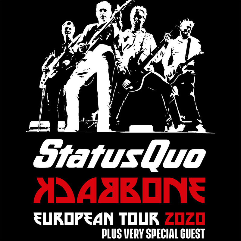 STATUS QUO - Backbone Tour 2020 - Very Special Guest:  Manfred Mann´s Earth Band