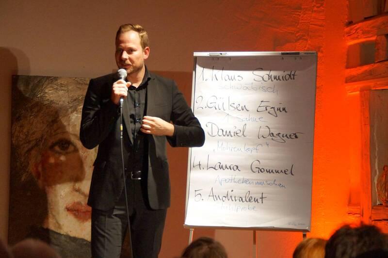 2. Möglinger Poetry Slam - Literarischer Dichterwettbewerb