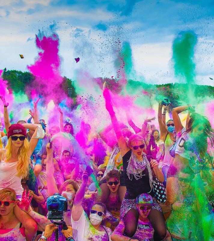 Holi Festival of Colours Mannheim