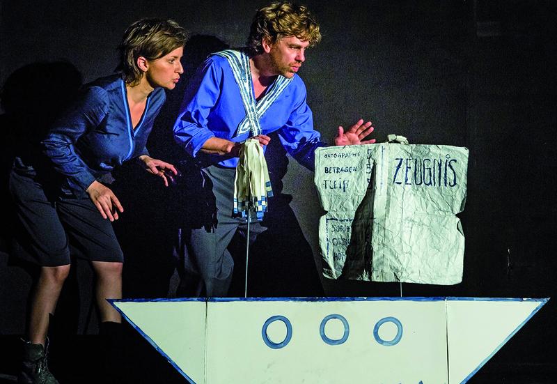 Schöner Scheitern mit Ringelnatz - Ein biographischer Theaterabend