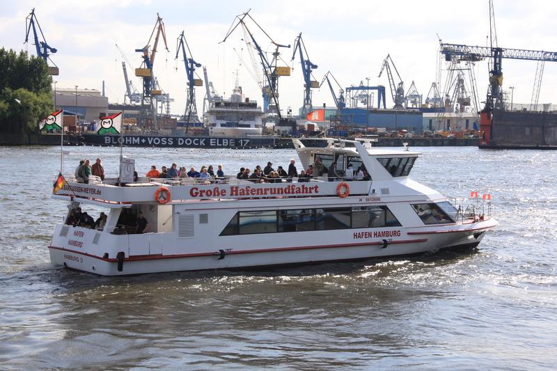 Große Hafenrundfahrt 2021 - GRUPPENBUCHUNG - 1-stündige Tour durch den Hamburger Hafen