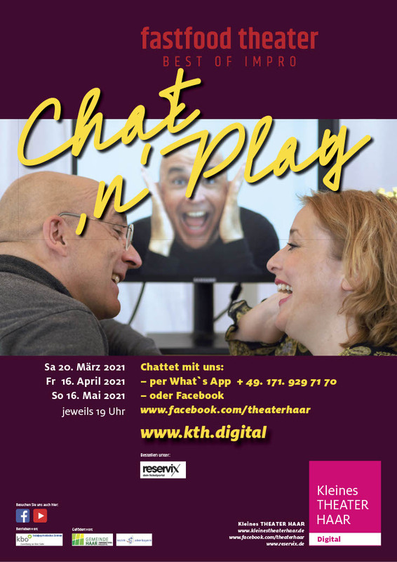 Fastfood Theater - Best of Impro: Chat ´n` Play - - Online- Veranstaltung -