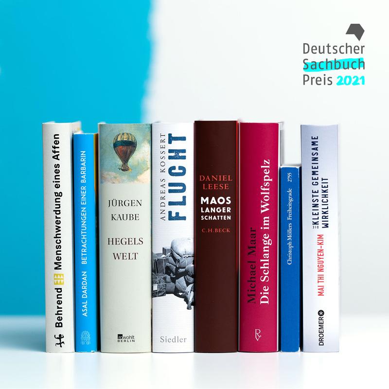 Deutscher Sachbuchpreis 2021 - Die Nominierten - Eine Livesendung aus dem Literaturhaus Frankfurt