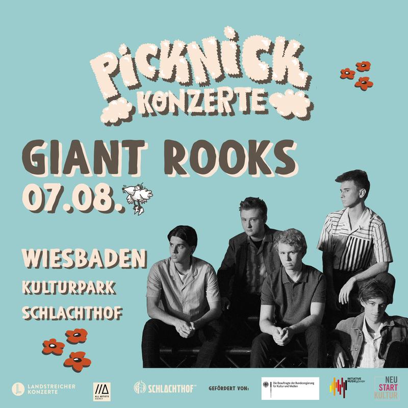 GIANT ROOKS - Picknick Konzerte 2021