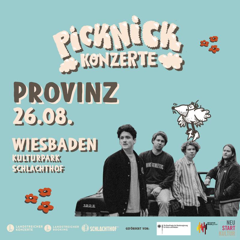 PROVINZ - Picknick Konzerte 2021