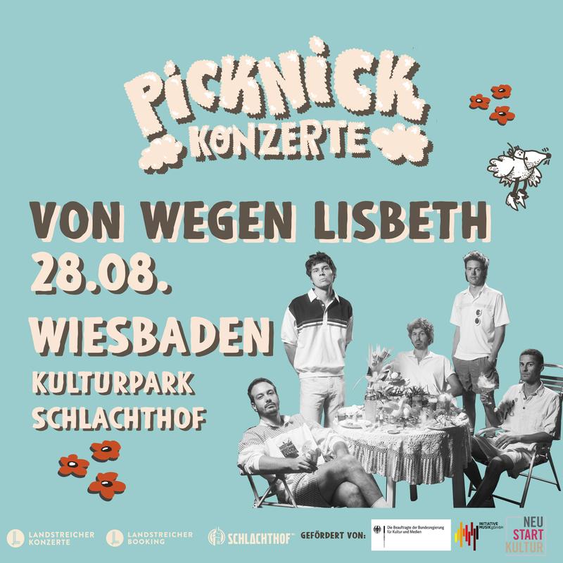 Von Wegen Lisbeth - Picknick Konzerte 2021