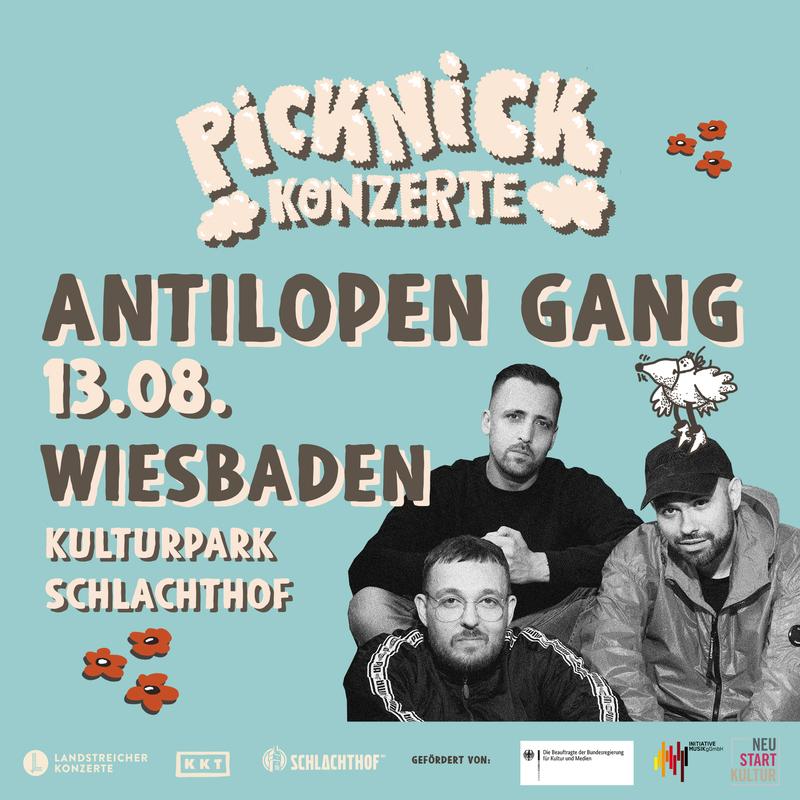 ANTILOPEN GANG - Picknick Konzerte 2021