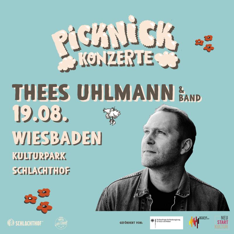 THEES UHLMANN & BAND - Picknick Konzerte 2021