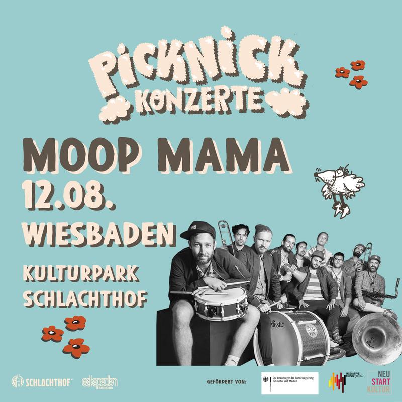 MOOP MAMA - Picknick Konzerte 2021