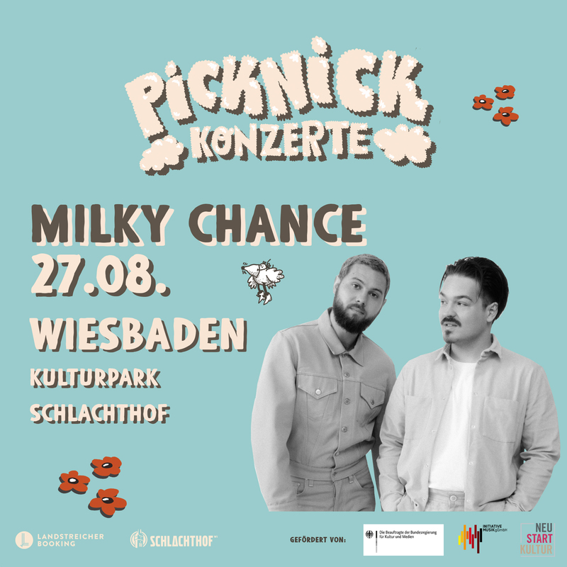 Milky Chance - Picknick Konzerte 2021