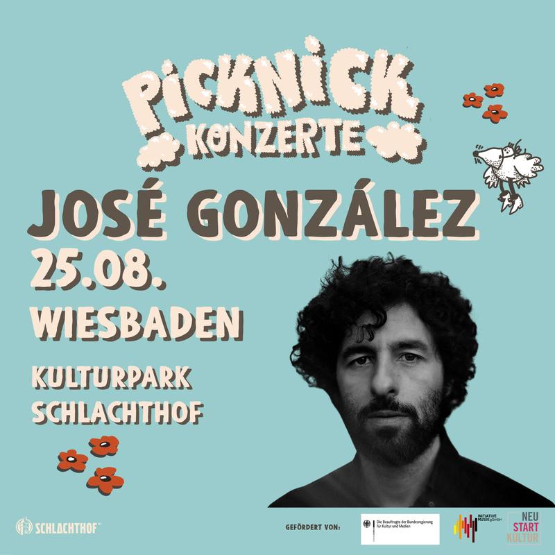 JOSÉ GONZÁLEZ - Picknick Konzerte 2021