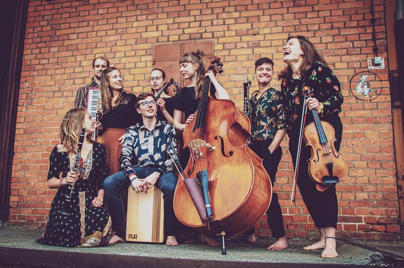 KulturSommer: Vagabund - Musikalische Vielfarbigkeit mit dem Lübecker Klezmer-Ensemble