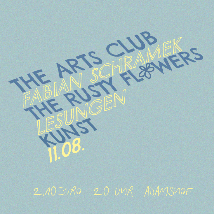 The Arts Club - an Evening with...