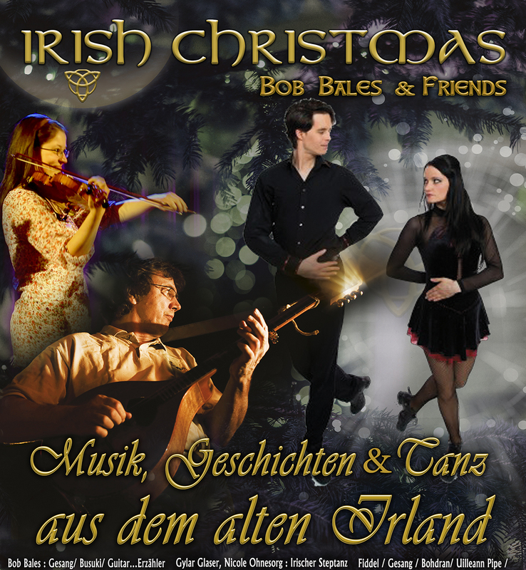 Irish Christmas - Bob Bales & Friends - Little Ireland Moments - Irish Folk Music & Irish Dance LIVE