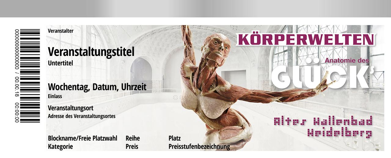 Körperwelten - 01.07. Heidelberg | Tickets