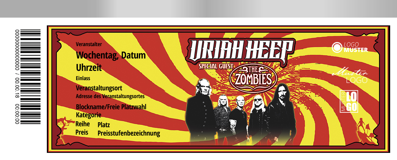 Uriah Heep - 10.11. Ravensburg   Tickets