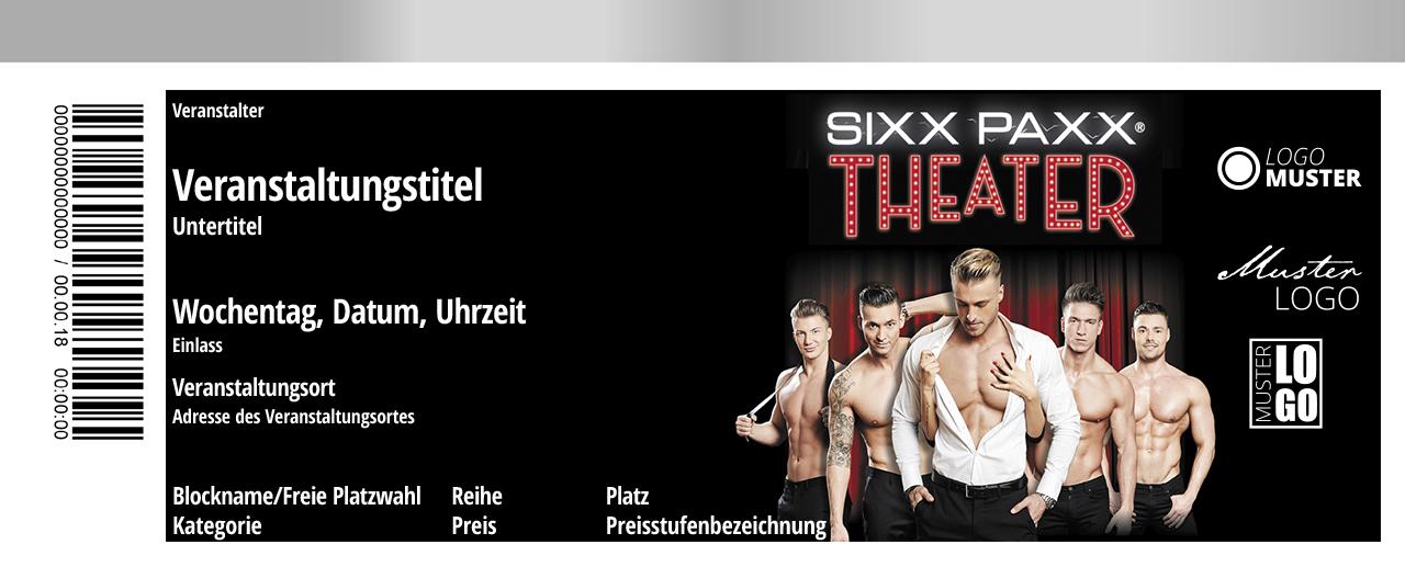 Sixx Paxx Theater Berlin 2202 Berlin Tickets