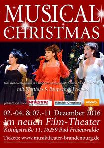 Bild: Musical- Christmas 2016 - Eine Weihnachtsgala mit den sch�nsten Musical & Christmas Songs/ Premiere