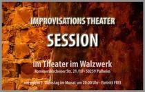 Bild: Improtheater Session - spontan, �berraschend, jedes Mal anders...
