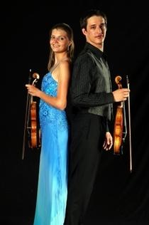 Bild: Adventskonzert mit dem Duo Viennese - Barockmusik f�r 2 Geigen und Cembalo