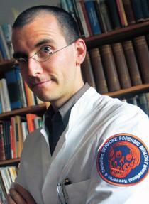 Bild: Dr. Mark Benecke - Kriminalf�lle am Rande des M�glichen - AUSVERKAUFT !!!