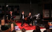 """Bild: Gaby R�ckert, Ingo Koster & Klaus Feldmann - """"Alle Jahre wieder"""" - Weihnachtliches Konzert - Premiere im NIKOLAISAAL Potsdam"""