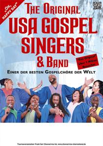 Bild: The Original USA Gospel Singers & Band - Einer der besten Gospelch�re der Welt