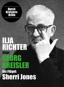 "Bild: Ilja Richter ""Durch Kreislers Brille"" - Am Klavier: Sherri Jones"