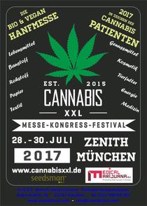 Bild: CANNABIS XXL - Deutschlands gro�e Hanf Messe - Tagesticket