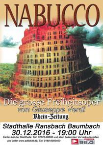 Bild: Nabucco - Oper von G. Verdi