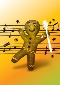 Bild: Der Lebkuchenmann - Musical zur Weihnachtszeit von David Wood