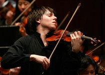 Bild: Joshua Bell   Violine   Daniel Harding   Dirigent   Swedish Radio Symphony Orchestra