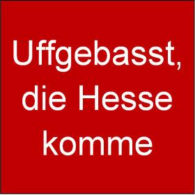 Bild: Uffgebasst, die Hesse komme - mit Hiltrud und Karl-Heinz, J�rgen Leber und Hilde aus Bornheim