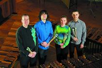 Bild: Marimba Quartett