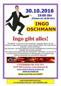 Bild: INGO OSCHMANN - Wunderbar! Es ist ja so!