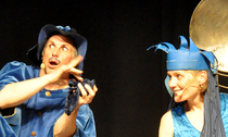 Bild: Das Blaue M�rchen - Mitspieltheater