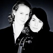 Bild: Harriet Krijgh (Violoncello)  Magda Amara (Klavier) Doppeltes Gl�ck