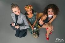 """Bild: """"Jetzt ich Deutsch"""" - Ein tri-females Kammermusical"""