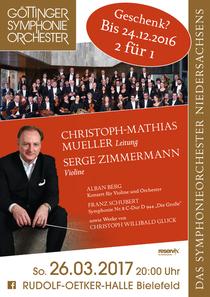 Bild: Serge Zimmermann und das G�ttinger Symphonie Orchester