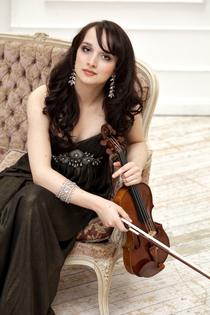 Bild: Christina Brabetz (Violine) & Nicolai Gerassimez (Klavier)