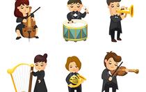 Bild: Von entf�hrten Br�uten, �bereifrigen Barbieren und st�rmischen Gewittern - Kinderkonzert mit Musik von Wolfgang Amadeus Mozart und Gioccachino Rossini