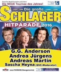Bild: Deutsches Musikfernsehen pr�sentiert: Die gro�e Schlager Hitparade - mit Andreas Martin, Andrea J�rgens und G.G. Anderson