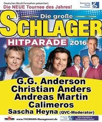 Bild: Deutsches Musikfernsehen pr�sentiert: Die gro�e Schlager Hitparade - mit G.G.Anderson, Christian Anders, Andreas Martin und Calimeros