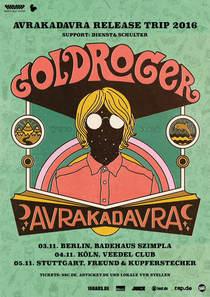 Bild: Goldroger - AVRAKADAVRA Release-Trip Berlin