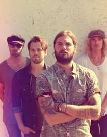 Bild: Sunset Sons - Support: Consolers
