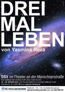 Bild: Drei mal Leben - Kom�die von Yasmina Reza; Regie: Carsten Hinz