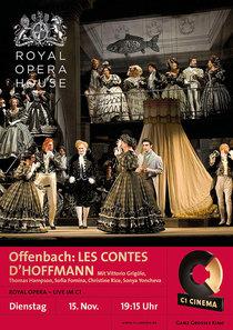 Bild: ROYAL OPERA HOUSE in London live im C1: Offenbach LES CONTES D�HOFFMAN