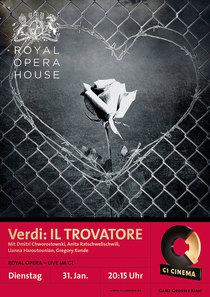 Bild: ROYAL OPERA HOUSE in London live im C1: Verdi IL TROVATORE